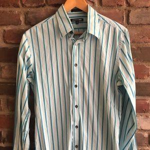 Express Men's Button Down Shirt - Size Medium